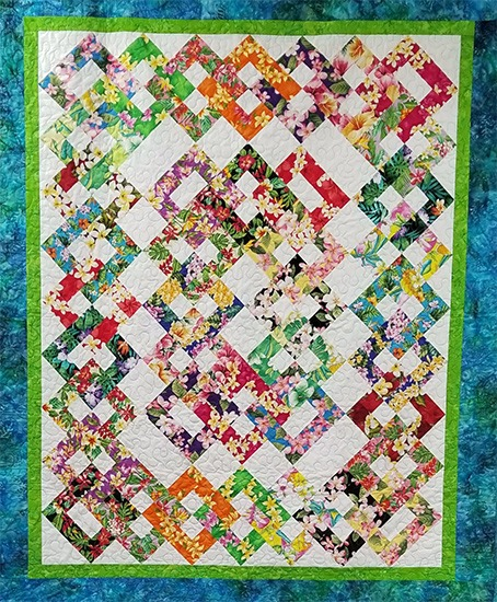 Quilt Patterns in Lihue, Hawaii